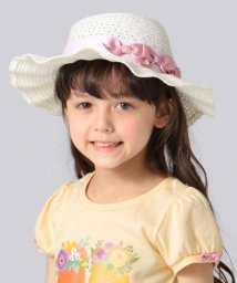 anyFAM(KIDS)/【KIDS雑貨】洗える UVケア ブレード リボン綿 ブレード ハット/502031043