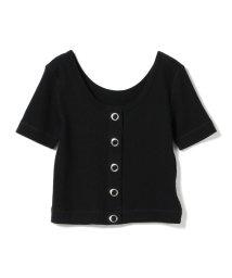 Ray BEAMS/Ray BEAMS / ワッフル リングドット 2way Tシャツ/501969513