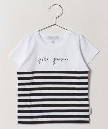 agnes b. ENFANT/SCD1 E TS メッセージTシャツ/502022064
