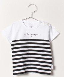 agnes b. ENFANT/SCD1 L TS メッセージTシャツ/502022071