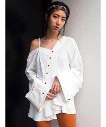 MURUA/ワンショルダーアシメシャツ/502025730