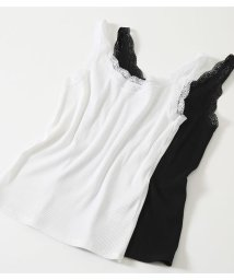 AZUL by moussy/BASIC LACE CAMISOLE/502031449