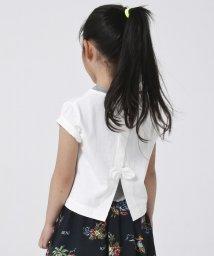 coen/【2セットアイテム・coen キッズ / ジュニア】バックリボンTシャツ×テレコタンクトップ/502031937