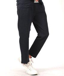LUXSTYLE/シアサッカーアンクルイージーパンツ※別売りのジャケットとセットアップが可能 アンクル パンツ /502033009