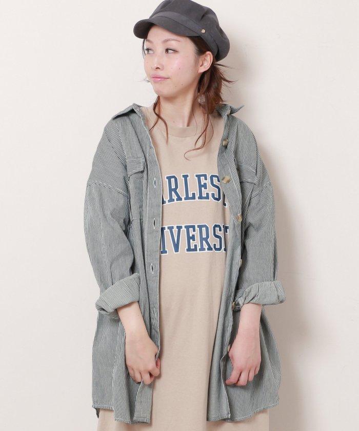 デニムBIGシャツジャケット