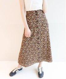 U by Spick&Span/花柄フロントポケット ロングスカート◆/502033346
