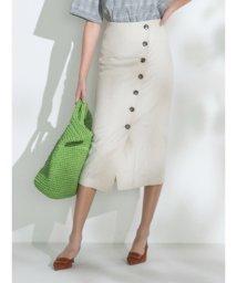 Mila Owen/セットアップボタンデザインタイトスカート/502033854