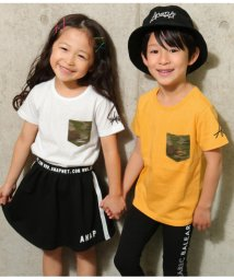 ANAP KIDS/カモフラ柄ポケットTee/501964720