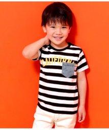 ANAP KIDS/CALIFORNIAロゴデニムポケットTシャツ/501971492