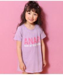 ANAP KIDS/ケアラベル風チケット付ロゴTワン/501982992