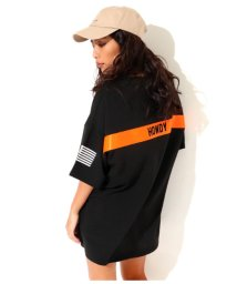 ANAP/BACKテープBIGTシャツ/501992593