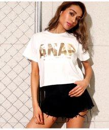 ANAP/ANAPロゴクロップドTシャツ/501995131
