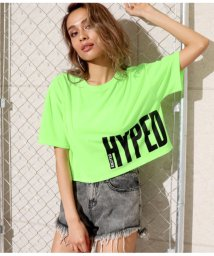 ANAP/ネオンカラープリントクロップドTシャツ/501998706