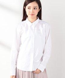 MELROSE Claire/やわらかコットンレギュラーカラーシャツ/501999390
