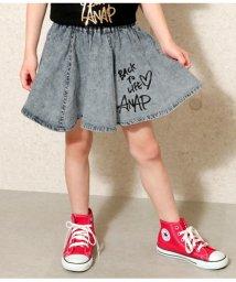 ANAP KIDS/ケミカルデニムスカート/502001580