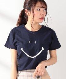 Afternoon Tea LIVING/ビッグスマイルTシャツ/502011575