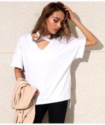 ANAP/クロスデザインTシャツ/502020925