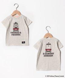LAGOM/【きかんしゃトーマス】前後プリントTシャツ/502024410