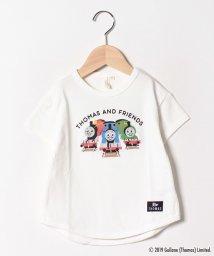 LAGOM/【きかんしゃトーマス】プリントTシャツ/502024413