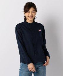FREDY&GLOSTER/【DANTON/ダントン】LINEN CLOTHバンドカラーシャツ#JD-3606KLS/502025562