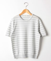 GUEST JOCONDE/【大きいサイズ/アンサンブル対応】ラメ糸使いプルオーバー/502029810
