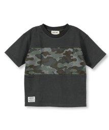 RADCHAP/迷彩切替半袖Tシャツ/502031922
