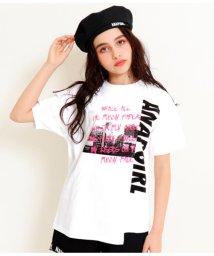 ANAP GiRL/リメイク風Tシャツ/502034180