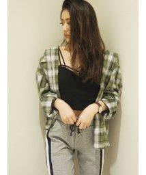 GYDA/スプリングヴィンテージチェックシャツ/502034258