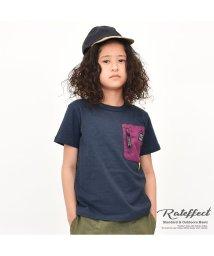 RAT EFFECT/蛍光ナイロンポケットTシャツ/502034585