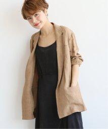 Spick & Span/【MIJEONG PARK】 リネンブレザーサイドタイ◆/502034676