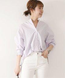 Spick & Span/ストライプロングセットバックシャツ◆/502034678