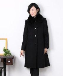 sankyoshokai/カシミヤ 100% コート ファー フォックス ロング/502035252