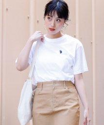 WEGO/別注USPOLOワンポイントTシャツ/501559049