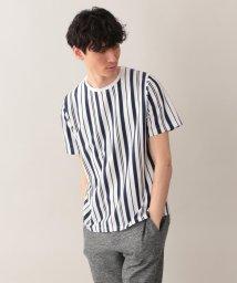 MACKINTOSH PHILOSOPHY/サーフニットストライプ MPクルーネック半袖Tシャツ/501983337