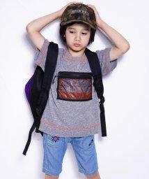 WASK/天竺メッシュポケットワイドTシャツ(110cm~130cm)/501989090