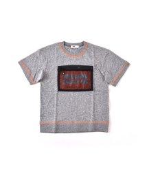 WASK/天竺メッシュポケットワイドTシャツ(140cm~160cm)/501989091