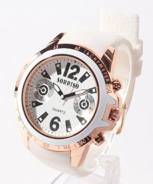 SP(エスピー)/【SORRISO】腕時計 SRF7-WHBK/WTSRF7