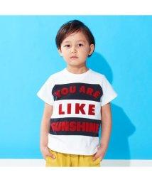 BREEZE / JUNK STORE/ラグラン切替ロゴTシャツ/502002651