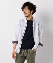 GLOSTER/フレンチリネンパラシュート7分袖シャツ/502025548
