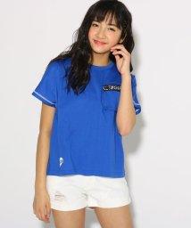 PINK-latte/ドルマンポケ Tシャツ/502036986