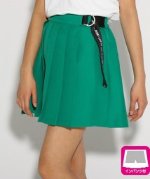 PINK-latte/★ニコラ掲載★サイドベルトプリーツ スカート/502036997