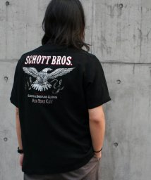 Schott/OPEN COLLAR SHIRT Schott EAGLE/オープンカラーシャツ ショット イーグル/502037020