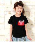 ANAP KIDS/ポケットプリントTシャツ/502037085