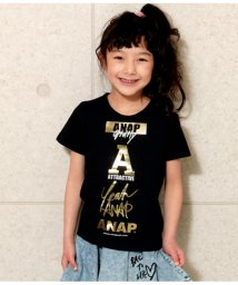 ANAP KIDS/ロゴマークTシャツ/502037086