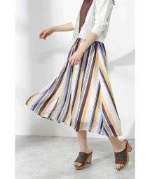 PROPORTION BODY DRESSING/|美人百花 7月号掲載|ランダムシアーストライプスカート/502037339