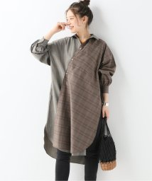 JOURNAL STANDARD/【EFILEVOL/エフィレボル】Mixed Clipton Shirt:シャツワンピース/502037901