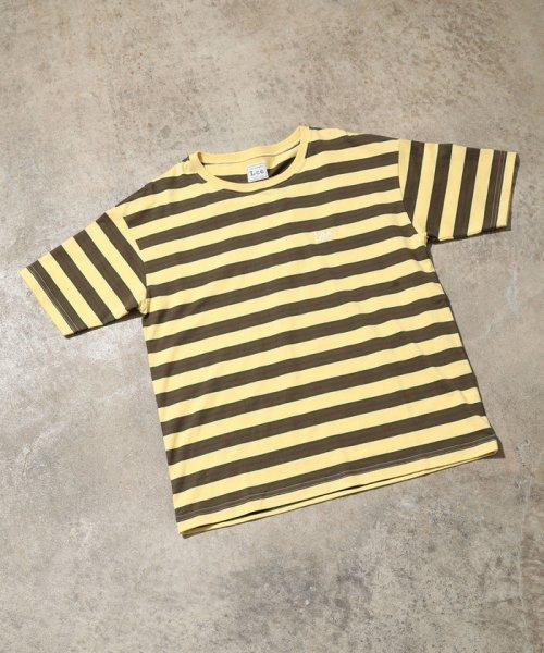ViS(ビス)/【一部店舗限定】【Lee】ボーダーTシャツ/BVM79080