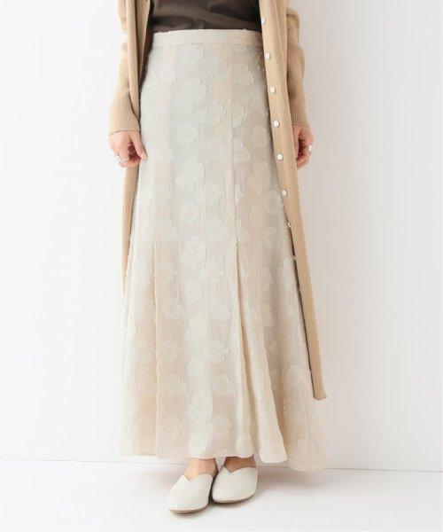 SLOBE IENA(スローブ イエナ)/フラワーJQフレア スカート/19060912408010