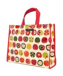 COLORFUL CANDY STYLE/プールバッグ ラミネートバッグ(スクエアタイプ) おしゃれリンゴのひみつ(アイボリー)/502039123