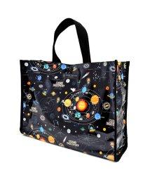 COLORFUL CANDY STYLE/【通園・通学】プールバッグ ラミネートバッグ(スクエアタイプ) 太陽系惑星とコスモプラネタリウム(ブラック)/502039135
